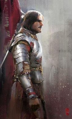 Knight, Donglu Yu on ArtStation at http://www.artstation.com/artwork/knight-f370fa20-0d1c-480f-b3e9-eab902d04cc9