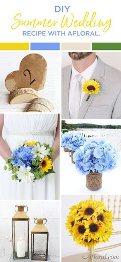 DIY Summer Wedding R