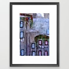 Houses in Milan in the evening Italy Framed Art Print ,Choose from a variety of frame styles, colors and sizes to complement your favorite Society6 gallery, or fine art print - made ready to hang. Fine-crafted from solid woods, premium shatterproof acrylic protects the face of the art print, while an acid free dust cover on the back provides a custom finish. All framed art prints include wall hanging hardware.