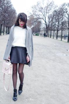grey, white&black, my favorite combo for winter