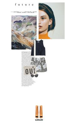 """""""The Future to Come."""" by browneyez ❤ liked on Polyvore featuring Acne Studios, Apiece Apart, Clare V. and lucluc"""