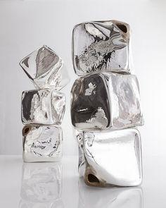 Crystal clear: Jeff Zimmerman mimics nature's symmetry with new glass works Abstract Sculpture, Sculpture Art, Geometric Sculpture, Wallpaper Magazine, Glass Design, Glass Art, Contemporary Art, Zimmerman, Inspiration