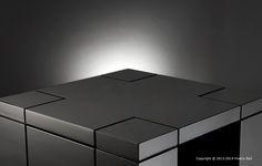 Produit Secret of Night - Deep Black High Gloss, Divider, Deep, Secret Secret, Furniture, Website, Black, Nightstand, Design