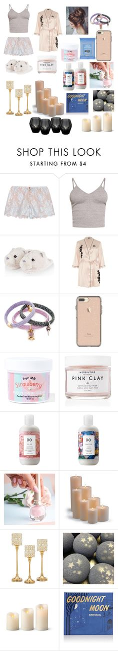 """""""I'm Singing Goodnight Moon/I'll Close My Eyes Okay Alright/I'm Singing Goodnight To The Moon"""" by sweetheart-the-moonbear ❤ liked on Polyvore featuring Rosamosario, BasicGrey, River Island, Marc Jacobs, Neutrogena, Sugar Milk Co, Herbivore, R+Co, Christian Louboutin and Frontgate"""