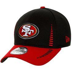 c1a571dc6 New Era San Francisco 49ers Training 39THIRTY Flex Hat - Black Scarlet.  49ers FansNfl GearSan ...