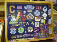 Cub Scout Shadow Box