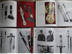 Armi bianche - Thomas M. Johnson.4 books.(German Daggers of World War II).