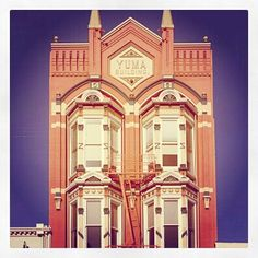 The Yuma Building 1882 - Current Home of Goorin Bros Hats and Marsha Sewell & Associates