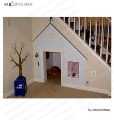 Love this idea - dog house or kids play house!  Either way...it's perfect!!