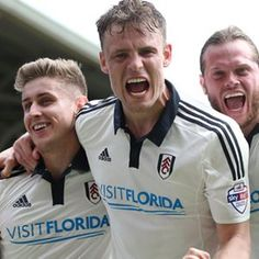 Ending on a high, as Cairneys goal gave Fulham a 1-0 victory against Bolton at The Cottage.