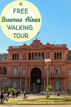Buenos Aires Walking Tour: Free Self-Guided BA Walk - Jetsetting Fools Visit Argentina, Argentina Travel, Travel Guides, Travel Tips, Budget Travel, Travel Articles, Ushuaia, Ecuador, Amazing Destinations