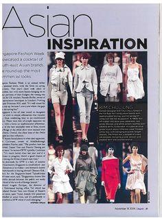 Fashion magazine scan