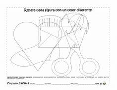 fichas percepción visual - Buscar con Google Hidden Pictures, Preschool Activities, Worksheets, Map, Hawks, Coloring, Google, Preschool, Gross Motor