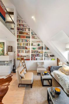 """adorable-home: """" For the book lovers Follow Adorable Home for daily design inspiration """""""