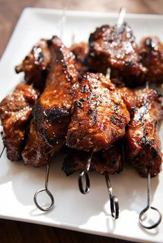 chinese barbecue char siu pork, from Use Real Butter (one of my fav dishes ever)  RECIPE INDEX gotta look