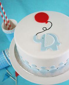 NORSU JA ILMAPALLO - ELEPHANT AND A BALLOON CAKE