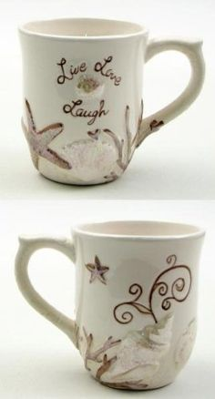 Ceramic Seashell Mug-049-30726 by IWGAC, http://www.amazon.com/dp/B00BWJ4S60/ref=cm_sw_r_pi_dp_.RTXrb0G976AE