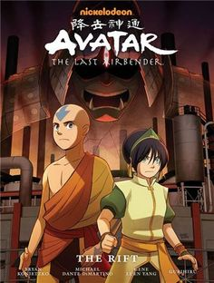 Avatar Aang and friends honor an Air Nomad holiday that hasn't been celebrated in over one hundred years, but when cryptic visits from the spirit of Avatar Yangchen lead Aang to a refinery operating on land sacred to the Airbenders, they so Avatar Aang, Avatar Book, Avatar The Last Airbender Art, Avatar Series, Team Avatar, Legend Of Aang, New Books, Good Books, American Born Chinese