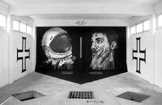 Street Art AXA PORTO no Edifício AXA no Porto de 30 Abril a 1 Junho 2014 | Escapadelas | #Portugal #Porto #StreetArt #Exposicao #AXA #Art