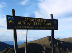 At the top of Chirripo National Park Costa Rica - Photo