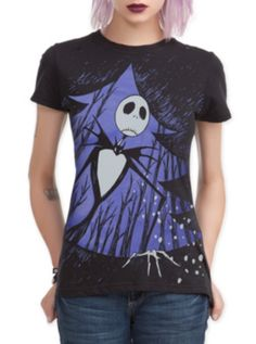 The Nightmare Before Christmas Xmas Door Girls T-Shirt http://www.offers.com/hottopic/?offer_id=2011524