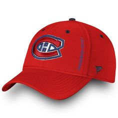 wholesale dealer d2ea2 f9e6a Men s Montreal Canadiens Fanatics Branded Red Authentic Pro Rinkside Speed  - Flex Hat, Your Price   29.99 CAD