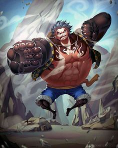 Luffy gear 4th