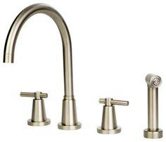 Giagni Dolo AKW Widespread Kitchen Faucet with Spray