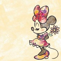 Minnie drawing