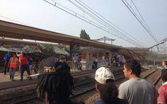 UPDATE Cel puţin opt morţi, după ce un tren a deraiat lângă Paris #france