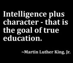 Children do not have to be abused to be intelligent and have a good character