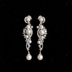 Belle Bridal l bridal earrings, wedding earrings, crystals earrings | Belle Bridal Jewellery l headpieces, jewelry, accessories shipping worldwide Gold Bridal Earrings, Gold Drop Earrings, Bridal Jewellery, Bridesmaid Earrings, Wedding Earrings, Chandelier Earrings, Gemstone Earrings, Crystal Earrings, Wedding Jewelry