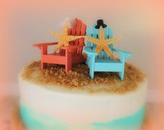 Beachy Wedding Cake: Award winner and available for sale!