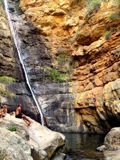 Meiringspoort Waterfall (Western Cape, South Africa)
