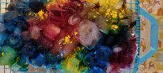 Mon expérience de teinture avec des glaçons | L' Atelier d Emma