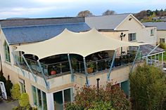 Stretch tent from Cover Solutions
