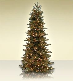 75 ft Treetime White River Spruce Artificial Christmas Tree with Clear Lights *** Click on the image for additional details.