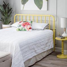 Finley Home Savannah Headboard - Yellow