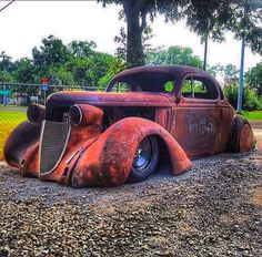 Vintage Trucks Muscle The best vintage cars hot rods and kustoms - Custom Rat Rods, Custom Trucks, Hot Rods, Ford Classic Cars, Classic Chevy Trucks, Lowrider, Rat Hod, Rat Rod Cars, Pedal Cars