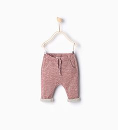 Plush trousers-Mini-NEW IN | ZARA United States 9-12 months