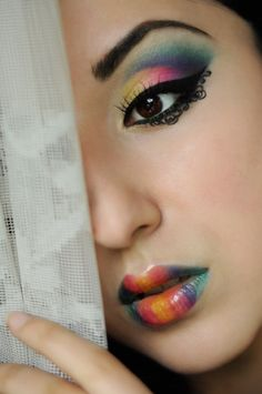 Colourful summer http://www.makeupbee.com/look_Colourful-summer_41717