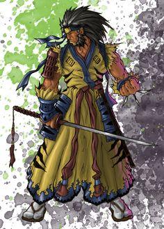 Samurai Wolverine by dnmn89 #wolverine #x_men #marvel_comics