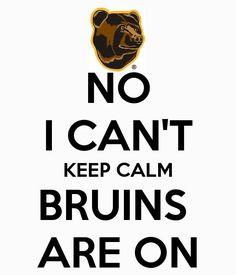 I can't keep calm.Bruins are on! Boston Sports, Boston Red Sox, Dont Poke The Bear, Patrice Bergeron, Slap Shot, Boston Bruins Hockey, Greater Boston, Hockey Teams, Hockey Stuff
