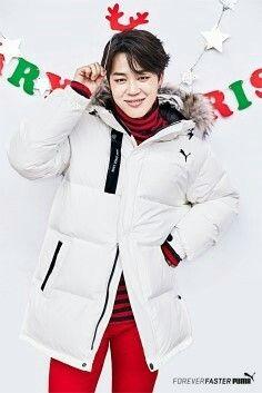 •161107 PUMA x BTS Down Jacket 2016 Winter