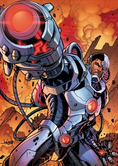 vikaq: The one thing I'm looking forward to post convergence is Cyborg's solo comic book series. Having a solo series is long overdue. Cyborg Dc Comics, Arte Dc Comics, Marvel Comics, Fun Comics, Marvel Vs, Comic Book Characters, Comic Book Heroes, Comic Character, Comic Books Art