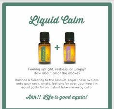 Liquid calm