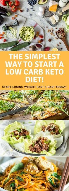 Keto is a super simple way of eating that will have you losing weight fast. Don't overcomplicate it, start today the easy way!