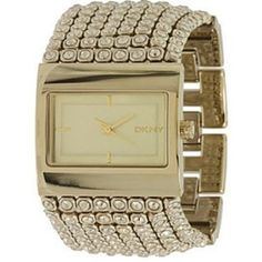 DKNY Women's NY4662 Gold Gold Tone Stainles-Steel Quartz Watch with Gold Dial: Watches: Amazon.com