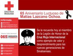 65 Aniversario Luctuoso. Conoce su acto heroico: http://www.cruzrojasinaloa.org.mx/index.php/noticias/132-65-aniversario-luctuoso-de-matias-lazcano-ochoa  #CruzRojaGuasave #NuestrosPrincipiosenAccion  #CruzRojaMexicana #CruzRojaSinaloa