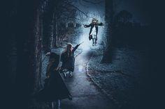 Creative Photography Workshops - Jenny Giles Photography Harry Potter inspired wizard portrait. Magic. Stupify. Fine art. Creative art. Photoshop